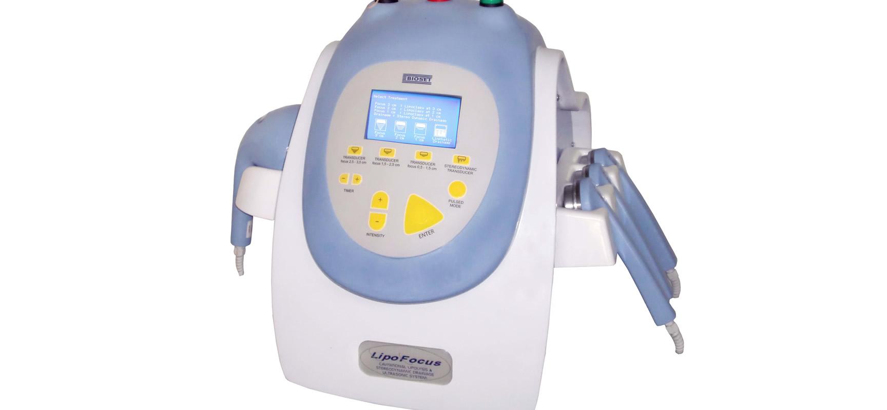 Lipofocus - Ultracavitação e Lipocavitação   Bioset