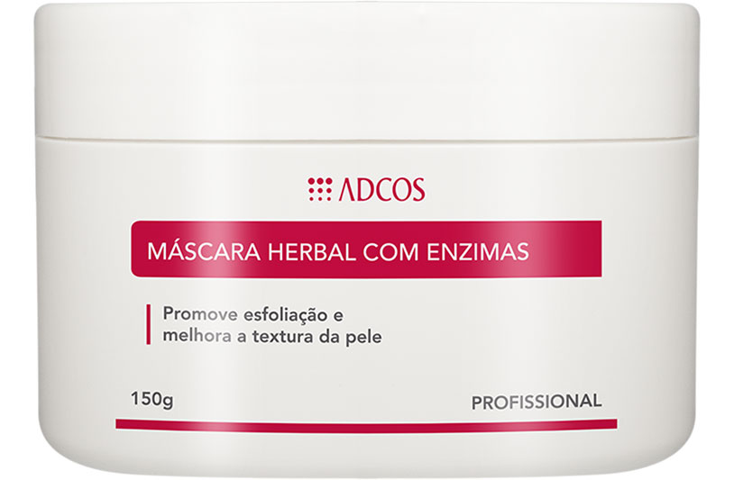 Máscara Herbal com Enzimas