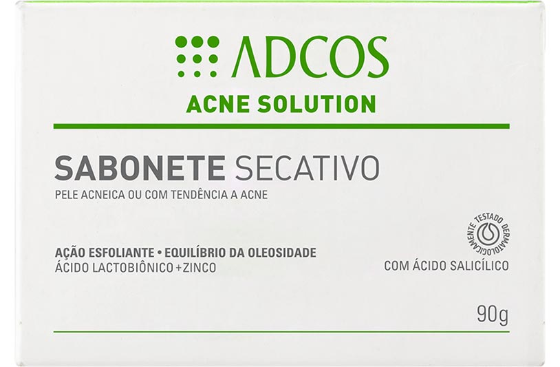 Acne Solution Sabonete Secativo