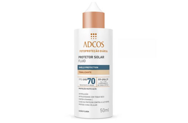 Protetor Solar Fluid Shield Protection FPS 70 Tonalizante