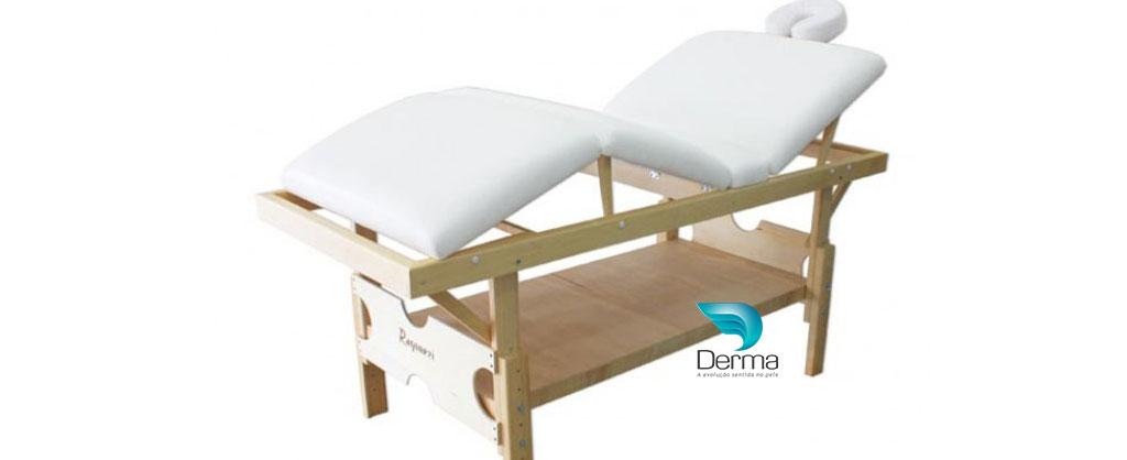 Mesa de Massagem Fixa Elite Tri