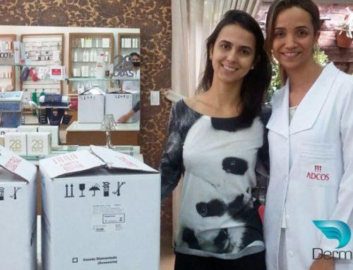 Mais um super treinamento personalizado Derma Ibramed com a Larissa – Ribeirão Preto/SP