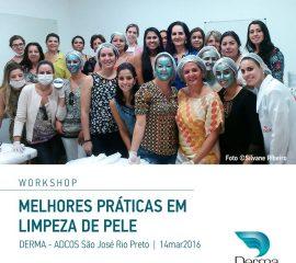 14/03 – Melhores Práticas Em Limpeza de Pele – São José Do Rio Preto | WorkShop