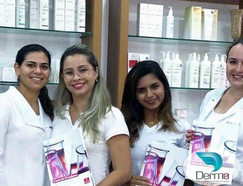 A Clínica Espaço Naka Ribeirão Preto aproveitou os treinamentos sob medida que a DERMA oferece!