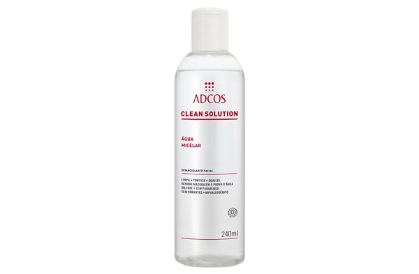 CLEAN SOLUTION ÁGUA MICELAR 240ML