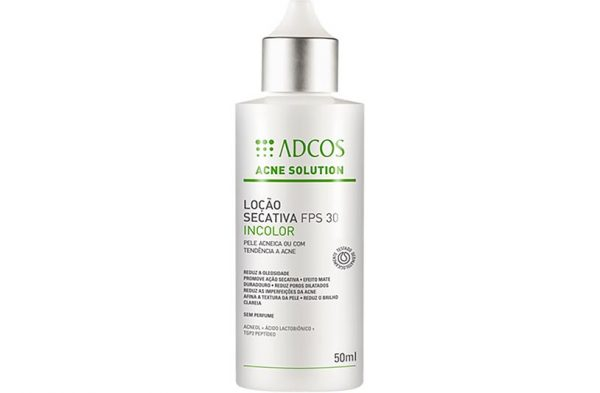 Acne Solution Loção Secativa FPS 30