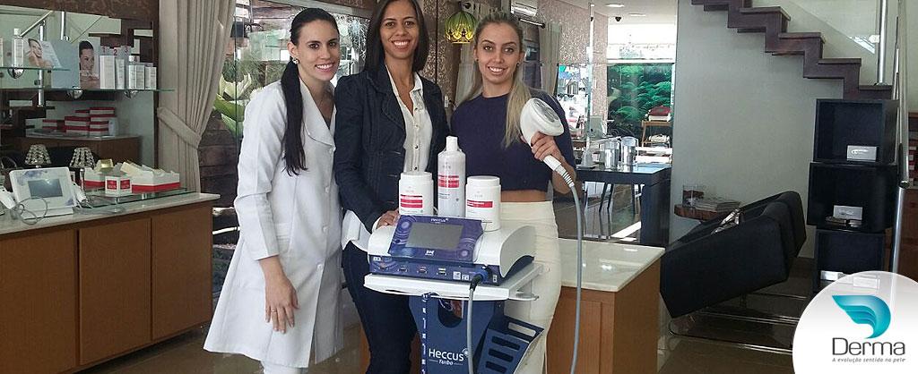 Recebemos as profissionais Isadora Bolotti e Michele Diniz, da Clinica Revitalize