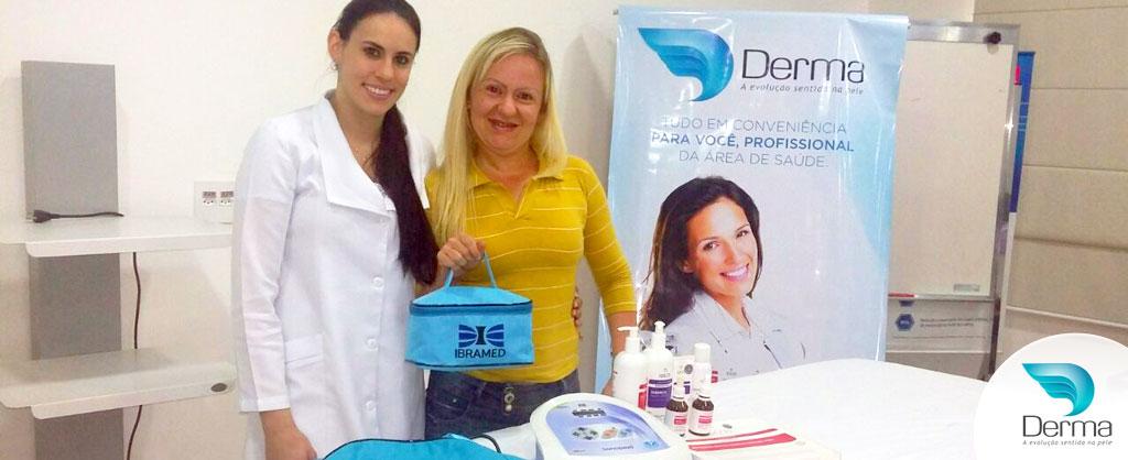 Denise Papadopoli investiu nas tecnologias Sonopeel Ibramed e Alta Frequência Portátil Ibramed