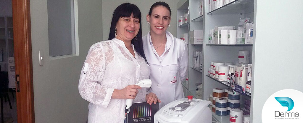 Edna Garcia investiu na tecnologia Endophoton Kld
