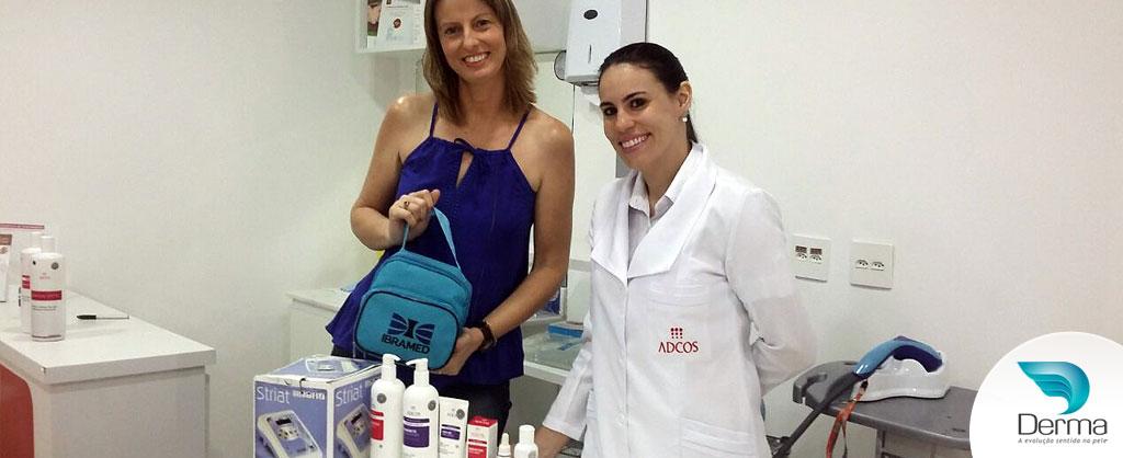 Luciana Parra ganhadora do sorteio do Simpósio Ibramed Ribeirão