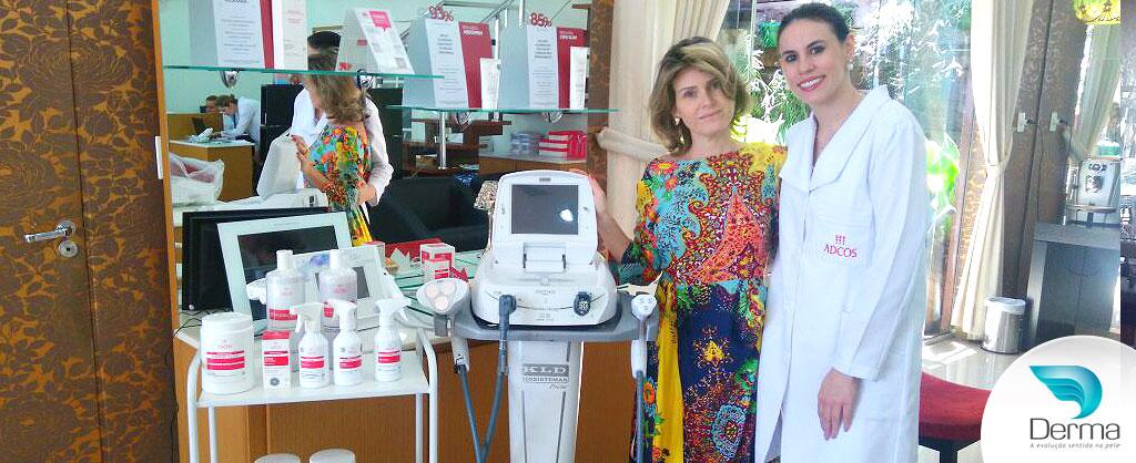 Thais escolheu a tecnologia Manthus Start Kld e recebeu treinamento personalizado da sua tecnologia e Associações Dermocosmeticas