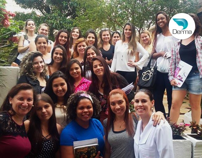 Workshop Multi Redux para as alunas de Estética da Graduação Uniara Araraquara