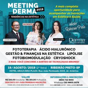 Meeting Derma 2019 Tendências na Estética