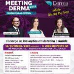 Meeting Derma 2019 Tendências na Estética em Rio Preto