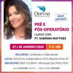 Curso Pré Pós-Operatório Sabrina Matthes