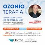 08/10 - Ozonioterapia Curso com Dr Rodrigo Jahara em Ribeirão Preto