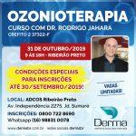 31/10 - Ozonioterapia Curso com Dr Rodrigo Jahara em Ribeirão Preto