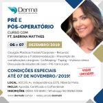 06 e 07/12 Pré e Pós-Operatório com a Profª Sabrina Matthes