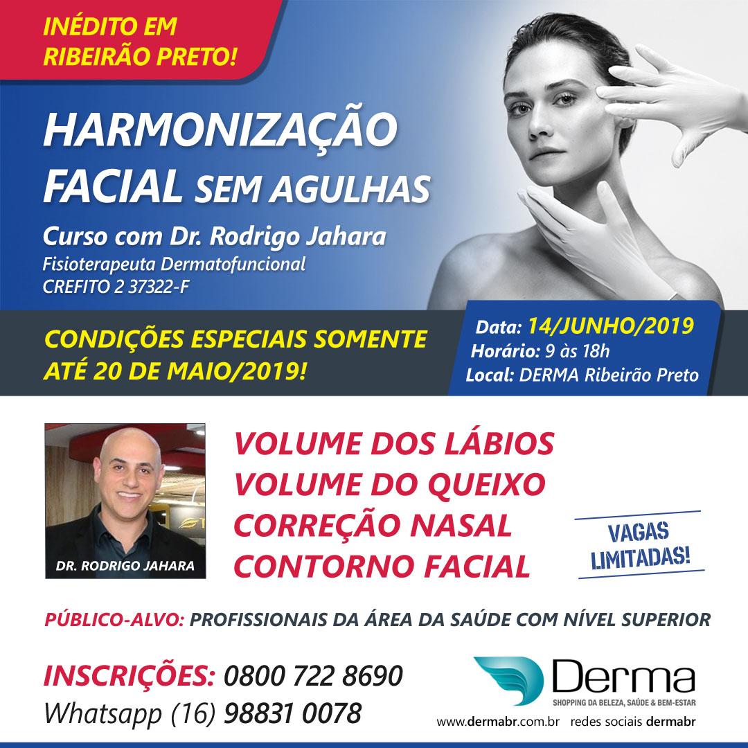 14/06 - Harmonização Facial Sem Agulhas com Dr Rodrigo Jahara