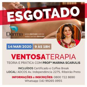 14/03 - Ventosaterapia com a Profª Marina Scarulis