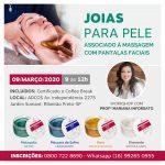 09/03 – Joias para Pele Workshop com a Profª Mariana Inforsato
