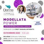 03/02 – Modellata Power Workshop com a Profª Mariana Inforsato