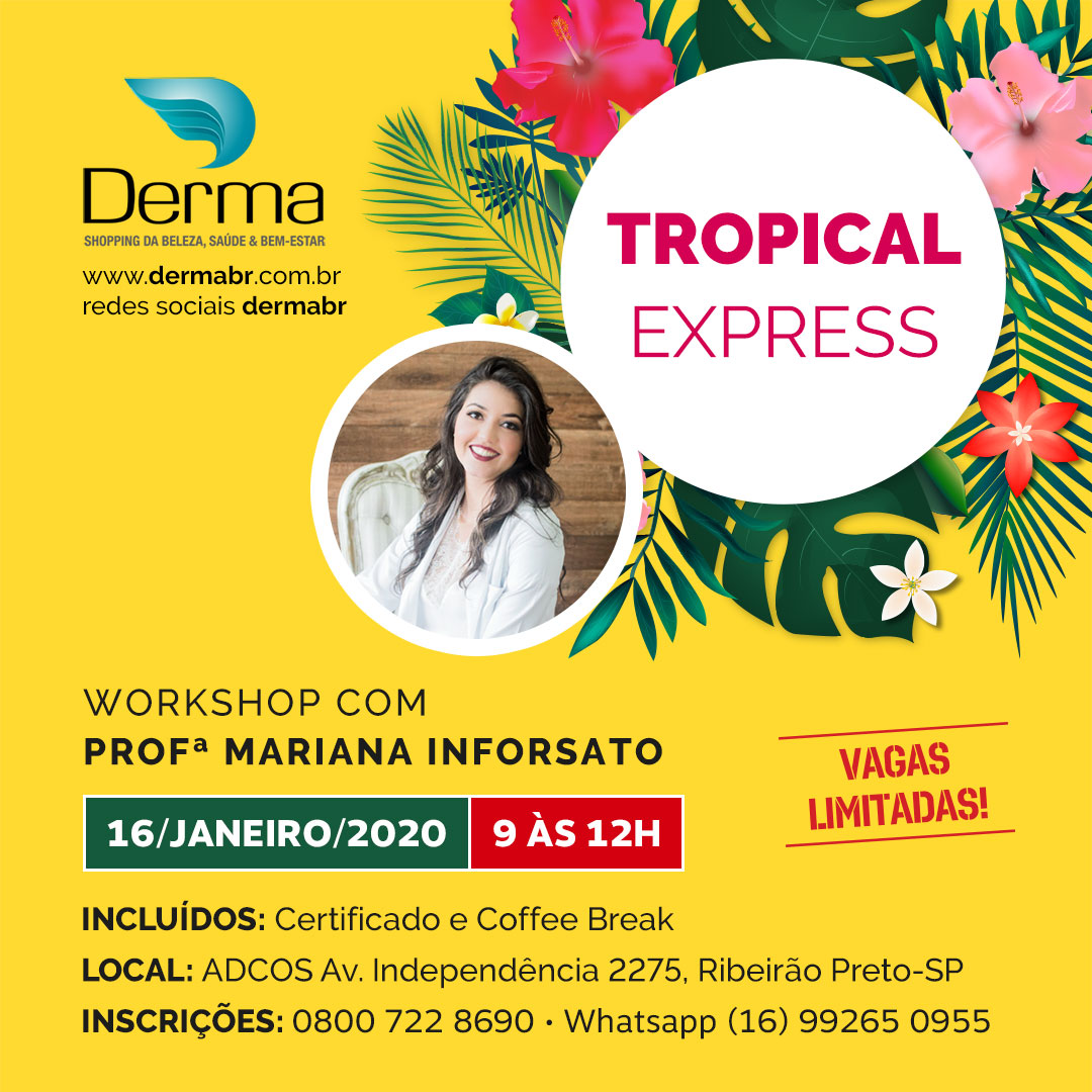 16/01 - Tropical Express Workshop
