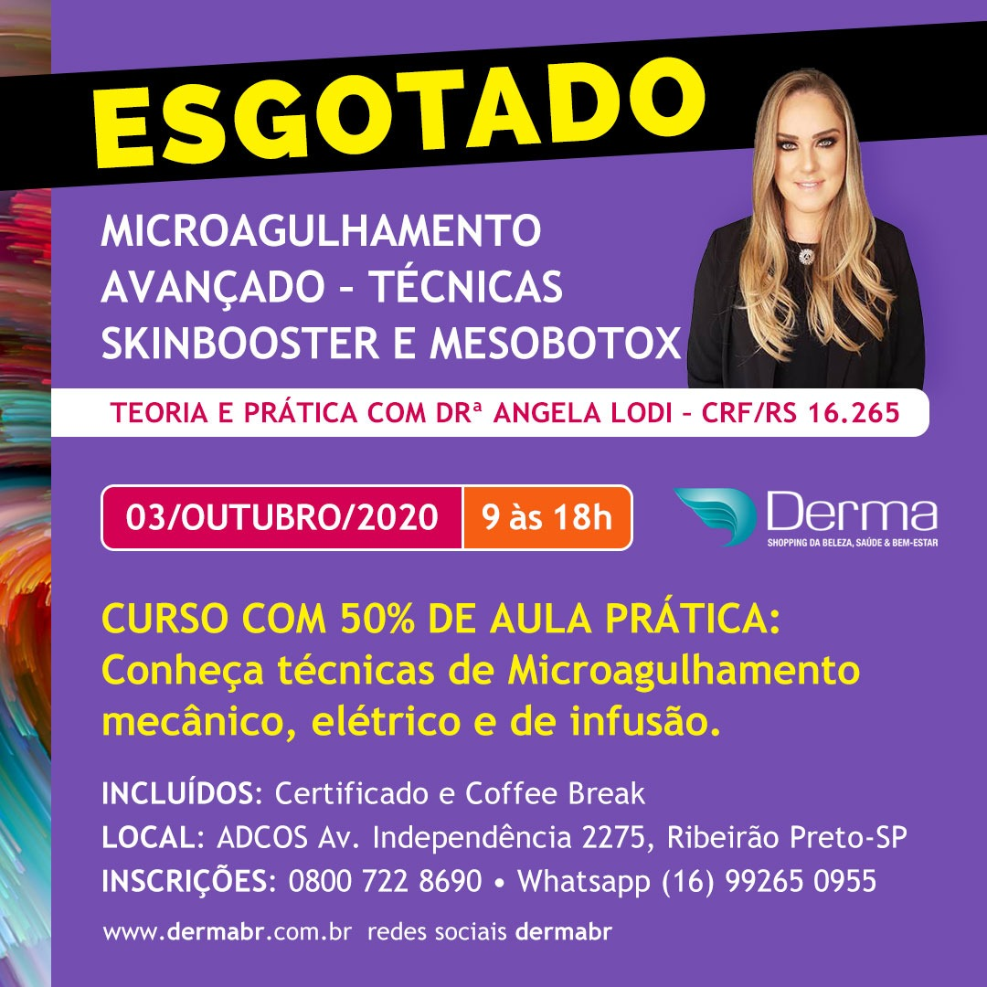 03/10 - Microagulhamento Avanvaçado - Técnicas Skinbooster e Mesobotox