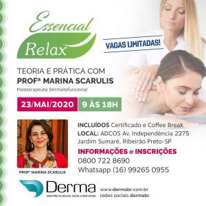 23/05 - Essencial Relax Teoria e Pratica com Profª Marina Scarulis