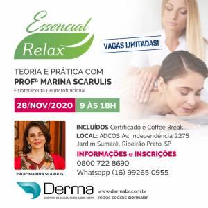 28/11 - Essencial Relax Teoria e Pratica com Profª Marina Scarulis