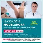 16/09 - Massagem Modeladora com Profº Esp. Luiz Carlos Almeida