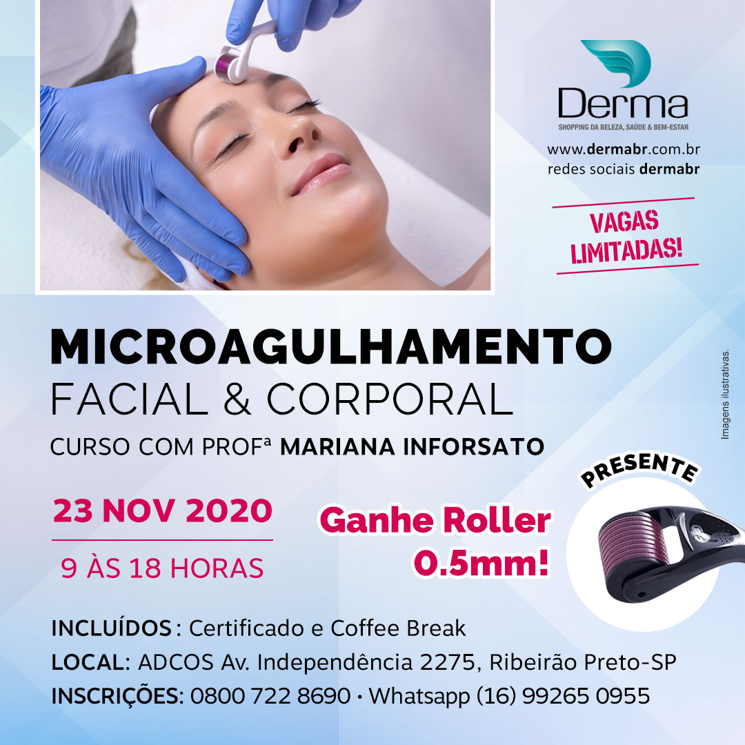 23/11 - Microagulhamento Facial & Corporal