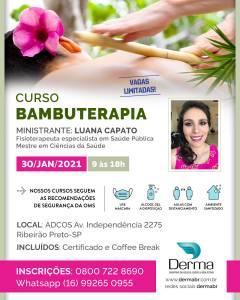 Curso Bambuterapia com a Profª Luana Capato