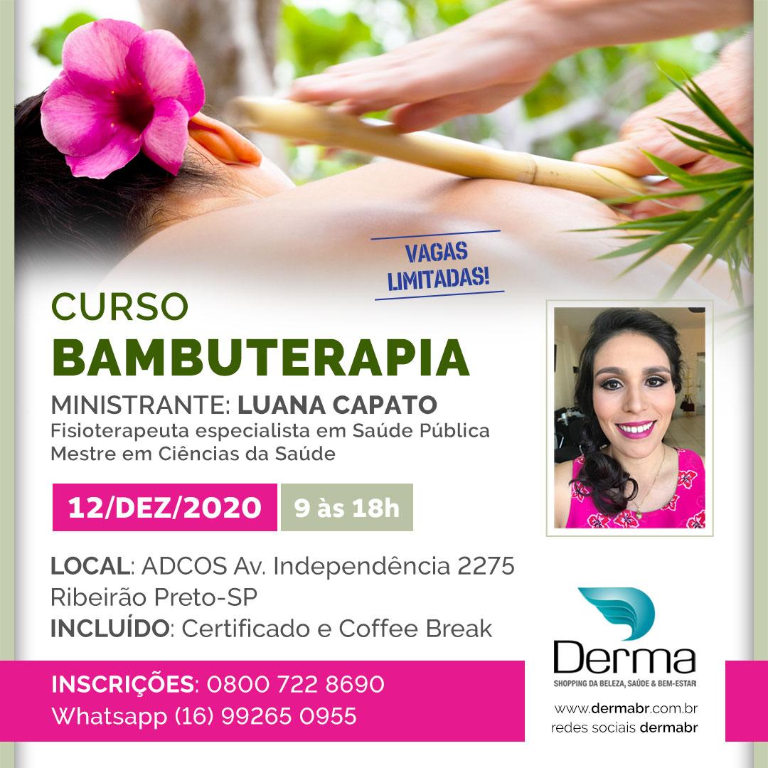 12/12 Curso Bambuterapia com a Profª Luana Capato