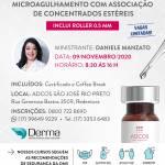 09/11 Microagulhamento com Associação de Concentrados Estereis