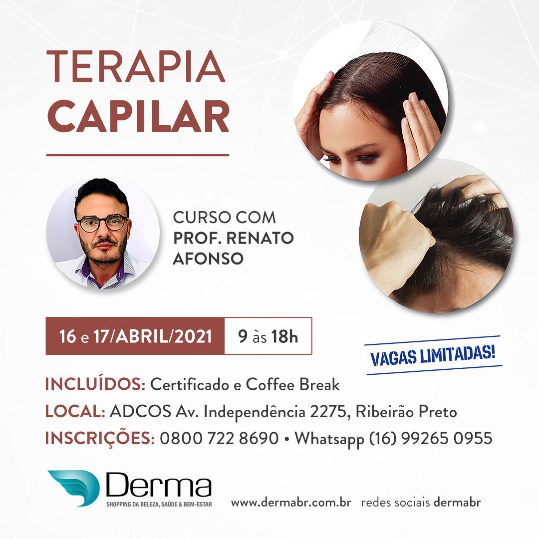 16 e 17/04 - Terapia Capilar