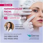 11/08 - Harmonização Facial # Não Invasiva com a Profª Mariana Inforsato
