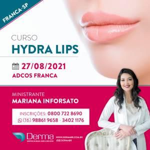 27/08 Hydra Lips Curso com a Profª Mariana Inforsato em Franca